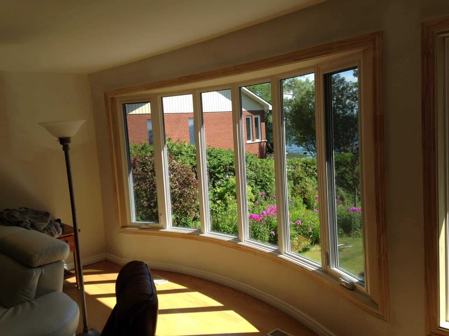Photo gallery for Curved bay window