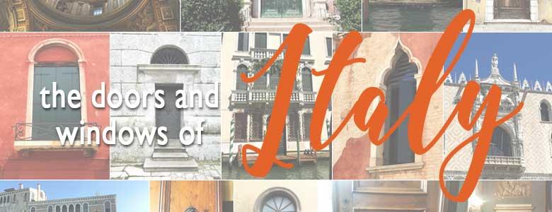 Italian windows and doors